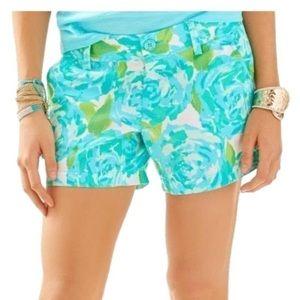 Lilly Pulitzer Callahan Poolside Shorts sz 8